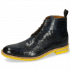 Stiefeletten Eddy 10 Crock Navy Pop Yellow