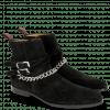Stiefeletten Elvis 45 Suede Pattinni Black Chain