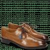 Derby Schuhe Betty 2 Make Up Tassel Moroccan Blue RS Brown