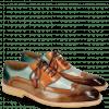 Oxford Schuhe Marvin 12 Brown Orange Blue