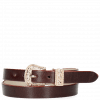Armbänder Ines 1 Burgundy Buckle Rose Gold
