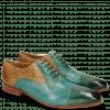 Oxford Schuhe Lance 55 Perfo Guana Mermaid Woven Sand