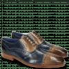 Oxford Schuhe Lewis 36 Moroccan Blue Oxygen Lines London Fog