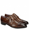 Monk Schuhe Lance 1 Crust Mid Brown HRS