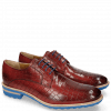 Derby Schuhe Eddy 8 Crock Ruby