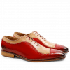 Oxford Schuhe Clark 2 Crust Red Beige LS