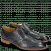 Derby Schuhe Kane 5 Navy Perfo