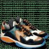 Sneakers Kobe 1 Suede Pattini Navy Vegas White Turquoise Tibet