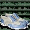 Oxford Schuhe Scott 12 Vegas Neptune Blue Digital White