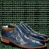 Monk Schuhe Lance 34 Mid Blue Moroccan Blue