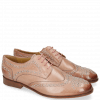 Derby Schuhe Sally 53 Berlin Rose Rivets