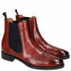 Stiefeletten Betty 1 Red Elastic Navy HRS