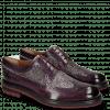 Derby Schuhe Trevor 10 Violet Hairon Halftone Viola