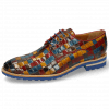 Derby Schuhe Brad 7 Woven Multi Rubino Yellow Ice Lake