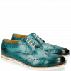 Derby Schuhe Scott 2 Washed Turquoise