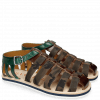 Sandalen Sam 3 Mid Brown Camo Khaki
