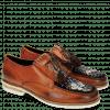 Derby Schuhe Kelly 9 Baby Brio Orange Suede Mid Brown