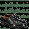 Oxford Schuhe Jacob 1 Black Lining Rich Tan