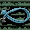 Armbänder Caro 1 Woven Ice Blue Accessory Nickel