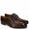 Derby Schuhe Greg 4 Berlin Perfo Dark Brown