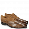 Oxford Schuhe Lewis 4 Big Croco New Taupe