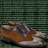 Oxford Schuhe Rico 8 Rio Stone Ciliago Suede Touch Perfo Navy