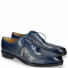 Oxford Schuhe Nicolas 1 Clear Water Lines Electric Blue London Fog