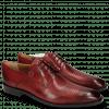 Derby Schuhe Xabi 3 Venice Lizzard Ruby M&H Rubber Navy
