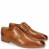 Derby Schuhe Alex 1 Venice Pebble Tan