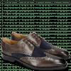 Derby Schuhe Martin 15 Venice Stone Suede Mr Touch Navy