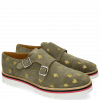 Monk Schuhe Esther 1 Suede Mr Touch Grey Poker