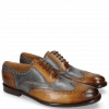 Oxford Schuhe Scott 12 Wood Vegas London Fog Washed