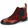 Stiefeletten Sally 45 Crock Ruby Hairon Tanzania Red