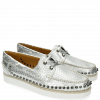 Loafers Ally 1 Metalic Scale Silver