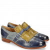 Monk Schuhe Selina 2 Pisa Moroccan Blue Clear Water Olivine