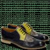 Derby Schuhe Xenia 2 Navy Oxygen Cedro