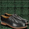 Derby Schuhe Selina 23 Perfo Black