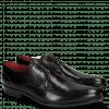 Derby Schuhe Toni 1 Perfo Black Modica Black