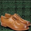 Derby Schuhe Selina 23 Perfo Tan