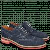 Oxford Schuhe Trevor 1 Denim Dark Blue