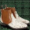 Stiefeletten Marlin 3 Hairon Jersey Metallic Brown White Wood