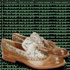 Loafers Amelie 60 Make Up Textile Zardosi Beige