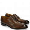 Derby Schuhe Kane 5 Dark Brown LS Brown