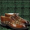 Derby Schuhe Betty 3 Wood Hairon Leo