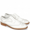 Derby Schuhe Sandy 1 Milled White Rivets