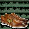 Oxford Schuhe Jeff 26 Tan Patch Rank Patch Stars