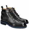 Stiefeletten Trevor 5 London Fog Aspen Navy Electric Blue