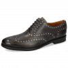 Oxford Schuhe Scott 12 Dice London Fog Underlay Patent White