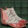 Stiefeletten Amelie 43 Ruby Hairon Young Zebra Binding Grafi