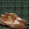 Derby Schuhe Clark 1 Python Nougat Powder